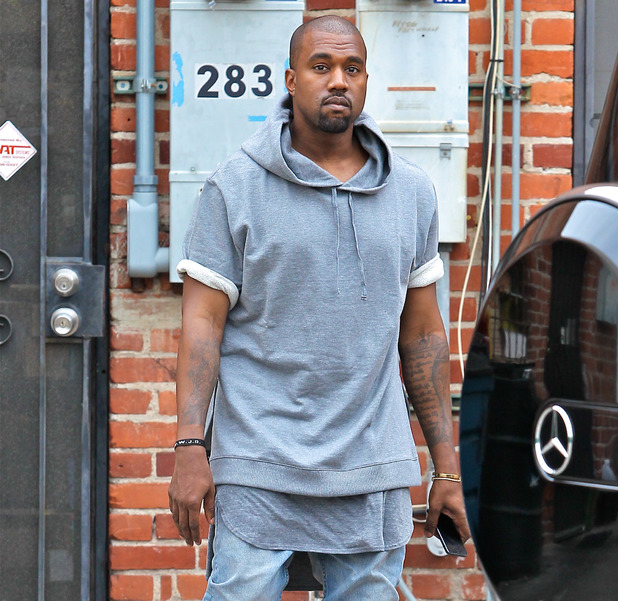 Kanye West seen shopping for furniture in Beverly Hills - 7.11.2013