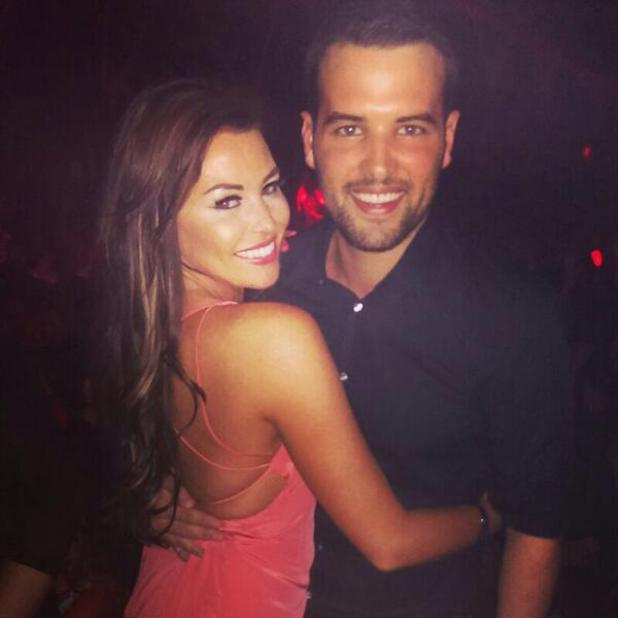 TOWIE's Jessica Wright and Ricky Rayment in Las Vegas - 24 September 2013