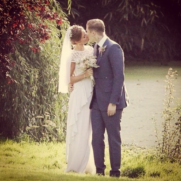 Millie Manderson, nee Mackintosh, shares another wedding picture - 23 September 2013