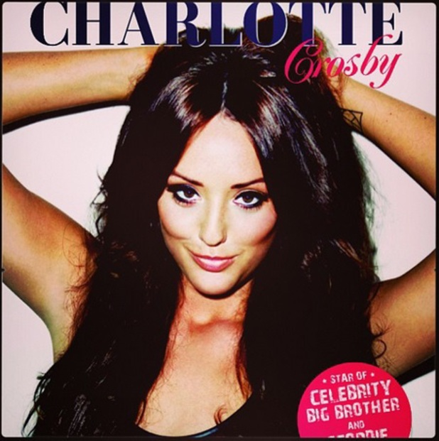 Charlotte Crosby shares teaser image from her 2014 calendar.