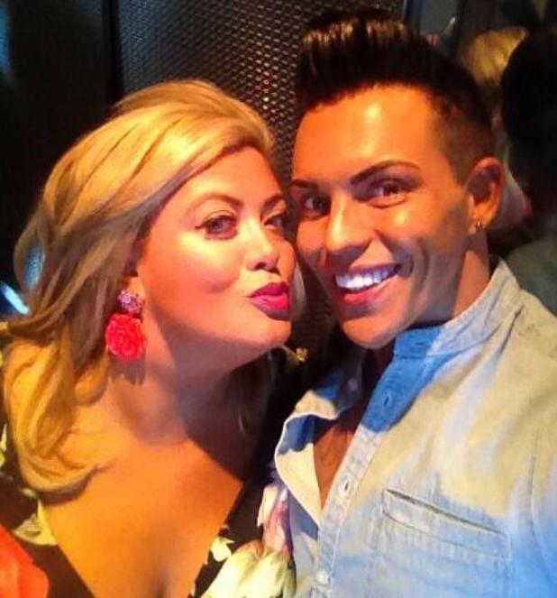 TOWIE's Gemma Collins and Bobby Norris in Las Vegas - 23 September 2013
