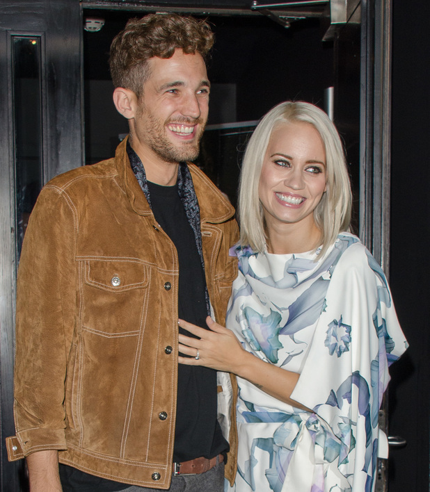 KEY Fashion brand launch at Vanilla London Max Rogers, Kimberly Wyatt Credit : PBI/WENN.com Date Created : 09/25/2013 Location : London, United Kingdom