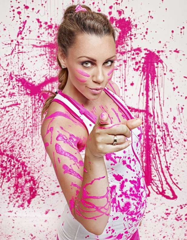 Michelle Heaton supports Zuma's Party In Pink initiative - 26 September 2013