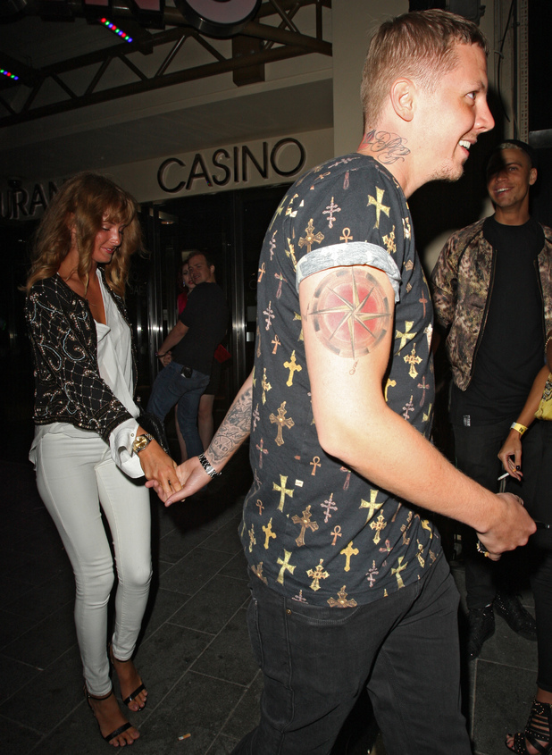 Millie Mackintosh and Professor Green outside Ink Nightclub - 27 September 2013