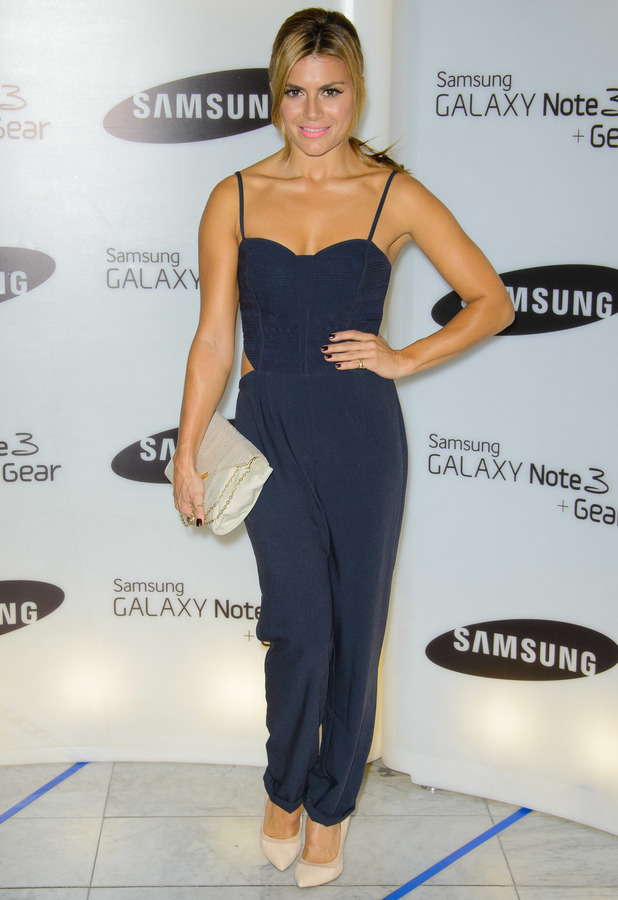 Zoe Hardman at the Samsung Galaxy Gear and Galaxy Note 3 UK launch held at the Hotel ME, London, 24 September