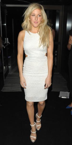 Ellie Goulding at Samsung party on 24 September