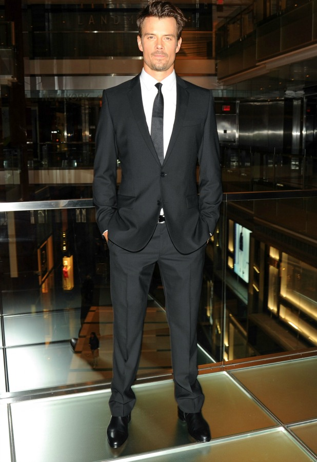 HUGO BOSS Flagship store opening, New York, America - 24 Sep 2013 Josh Duhamel