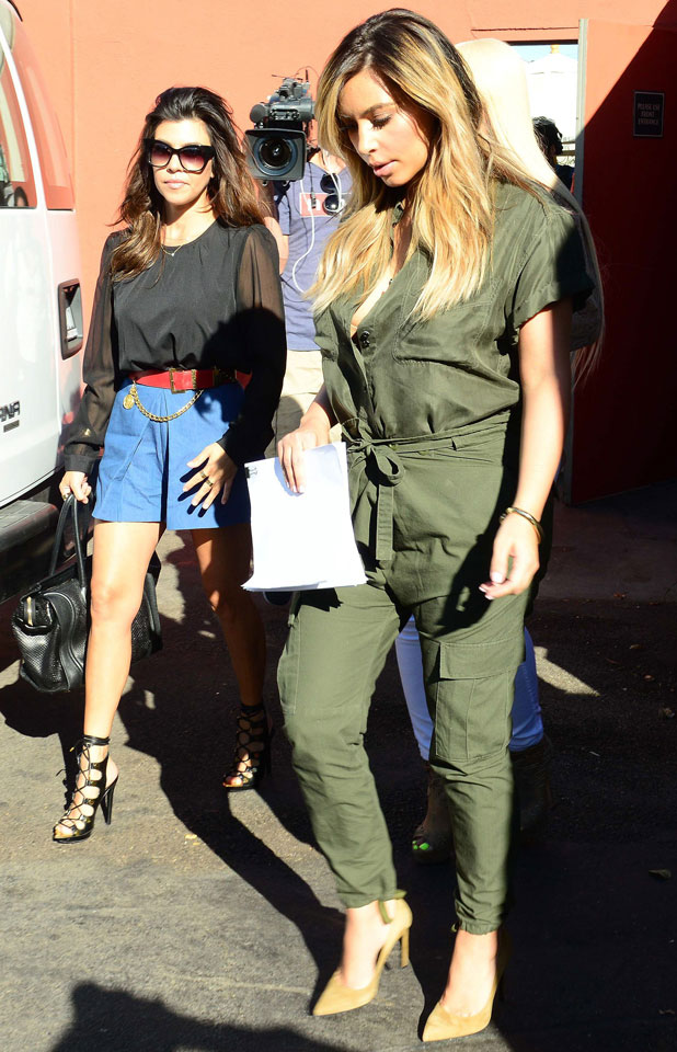 Kim Kardashian out and about, Los Angeles, America - 24 Sep 2013