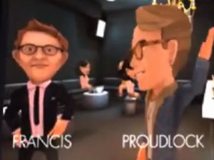 Oliver Proudlock and Francis Boulle computer game characters - 3 October 2013
