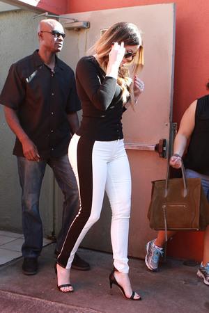 Khloe Kardashian and Kris Jenner in Sherman Oaks, Los Angeles - 30.9.2013