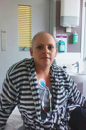 Sarah needed chemotherapy when she was just 27