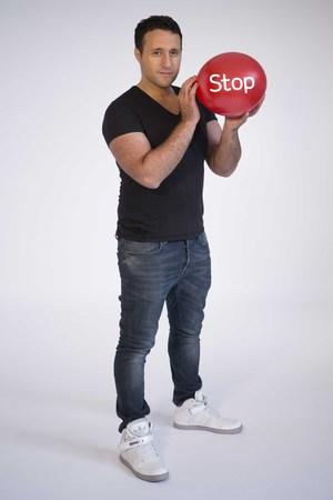 Antony Costa promo pic for Stoptober