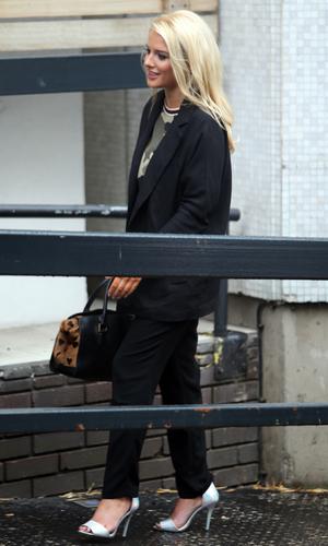 Helen Flanagan outside the ITV studios - 2.10.2013