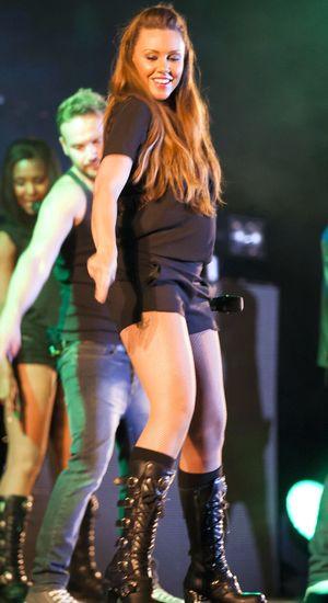 Peter Andre in concert, Peterborough Arena, Britain - 28 Sep 2013 Michelle Heaton
