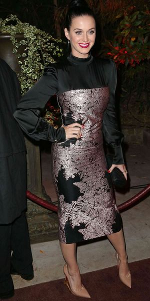 Katy Perry at the 'Mademoiselle C' film screening after party, Paris, France - 01 Oct 2013