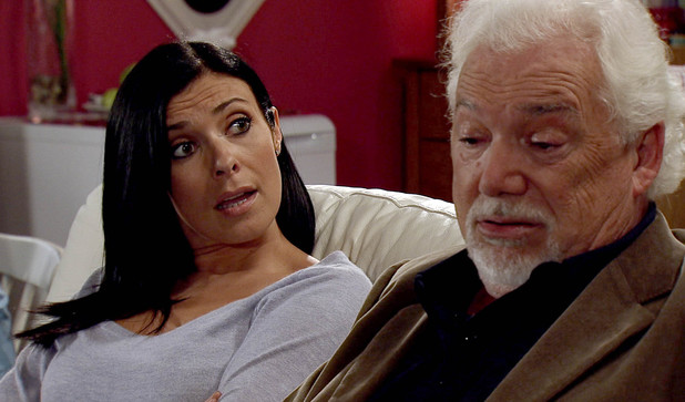 Corrie, Michelle questions her dad, Fri 4 Oct