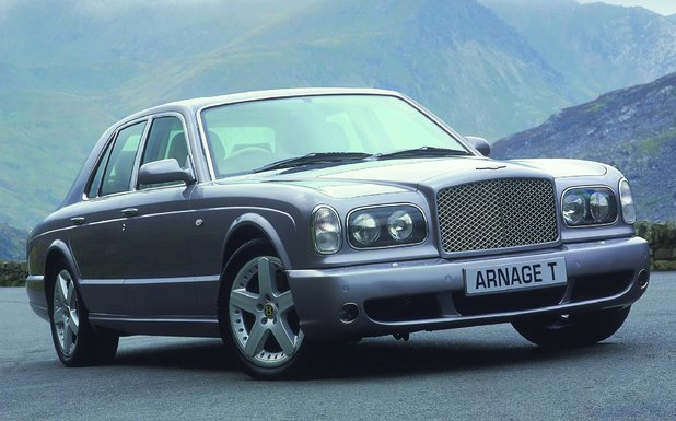 BENTLEY ARNAGE T FRONT VIEW 2002
