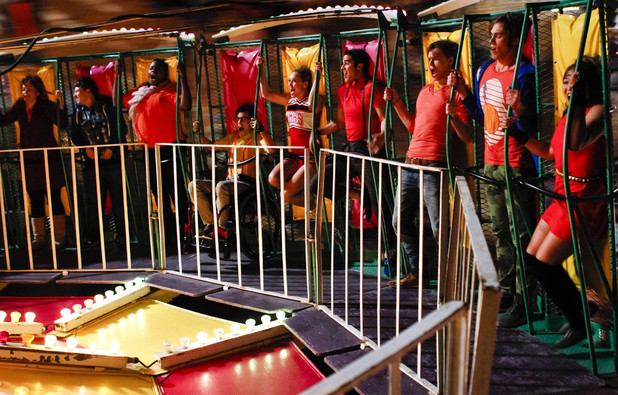 Glee, season 5 episode 1, Fri 4 Oct