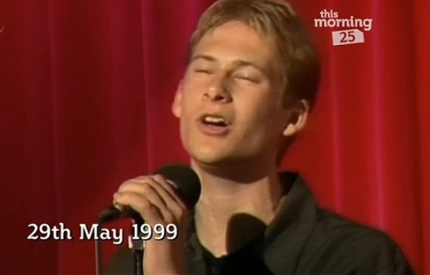 Lee Ryan auditions for This Morning band in 1999 - 3 October 2013