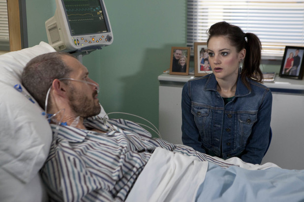Corrie, Kylie shows Nick a photo of Lily, Wed 2 Oct