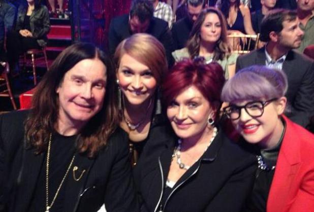 Ozzy Osbourne, Sharon Osbourne, Kelly Osbourne and Lisa Stelly