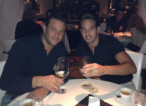 Elliot Wright with James Lock in Las Vegas