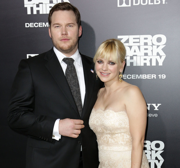 Los Angeles premiere of Columbia Pictures' 'Zero Dark Thirty' at Dolby Theatre Chris Pratt, Anna Faris - 2012