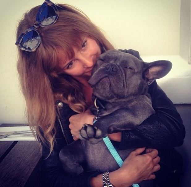 Millie Mackintosh (now Manderson) reunited with pet dog Herby - 29.9.2013