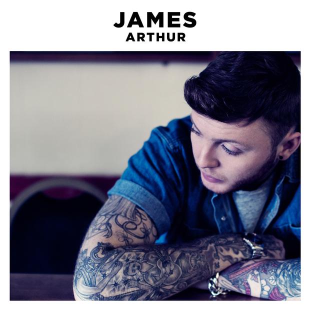 James Arthur's album artwork for James Arthur, 2013