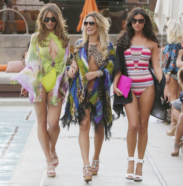 TOWIE show off bikini bodies in Las Vegas