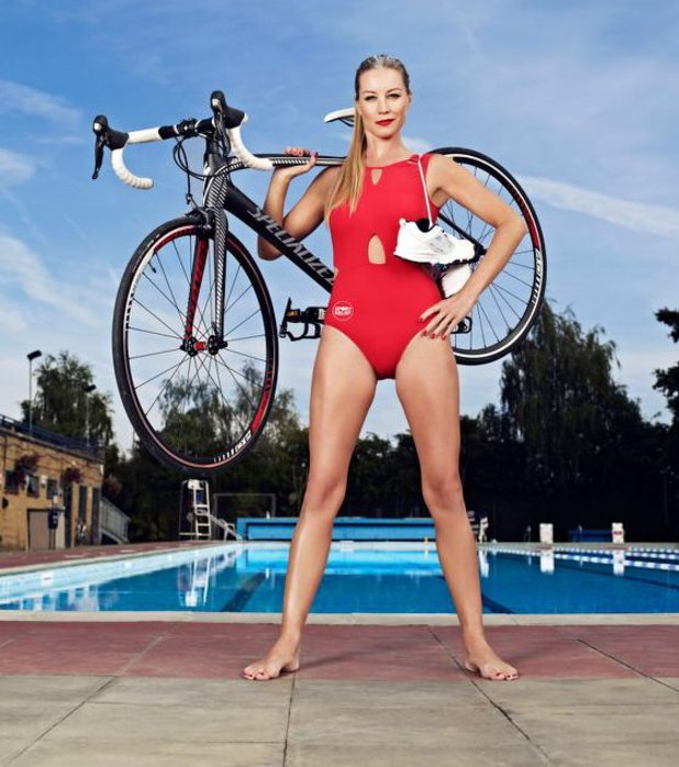 Denise Van Outen launches Sports Relief's latest campaign - 2 October 2013