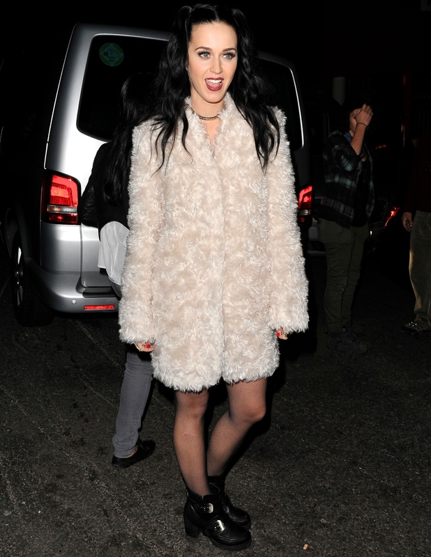 Katy Perry leaving the iTunes festival at the roundhouse in Camden - 30 September