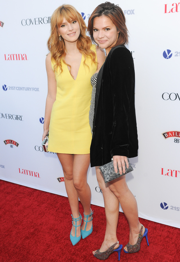 Bella Thorne at Latina Magazine's Hollywood Hot List Party in Los Angeles, 3 October