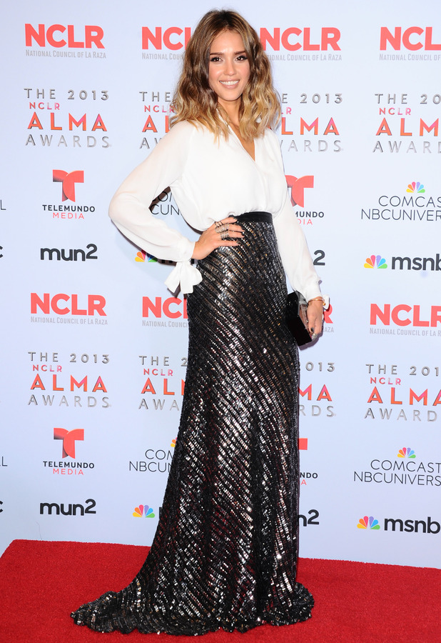 Jessica Alba - 2013 ALMA Awards, Los Angeles, America - 27 Sep 2013