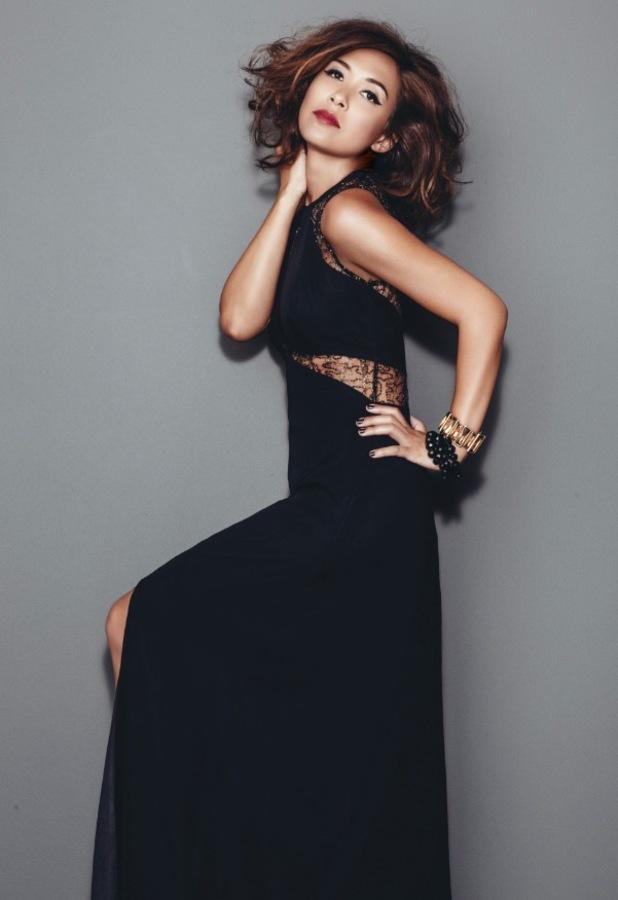 Myleene Klass models her new A/W '13 mid-season range for Littlewoods.com