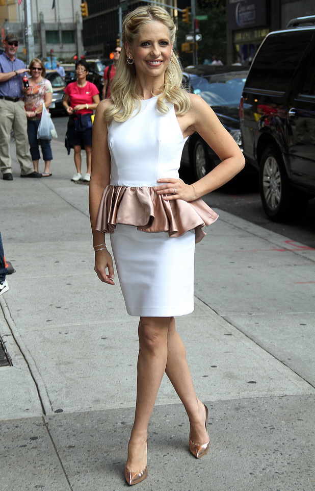 Sarah Michelle Gellar out and about, New York, America - 01 Oct 2013