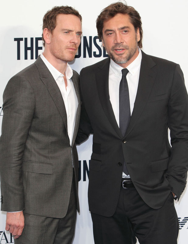 Javier Bardem, Michael Fassbender, The Counselor Special Screening at the Odeon West End Leicester Square, 3 October 2013