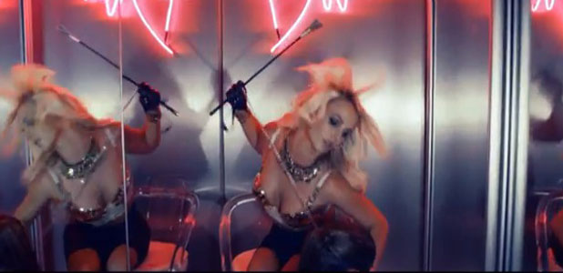 Britney Spears in Work B**ch music video, 1 October 2013