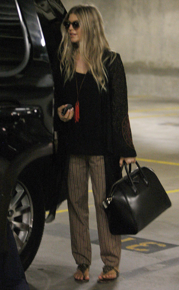 Fergie out and about in Los Angeles, 3 October 2013
