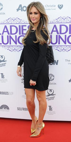 Georgina Dorsett attends the Manchester United Foundation Ladies Lunch, 30 September 2013