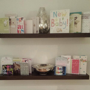 Baby gifts sent to JJ Hamblett and Caterina Lopez