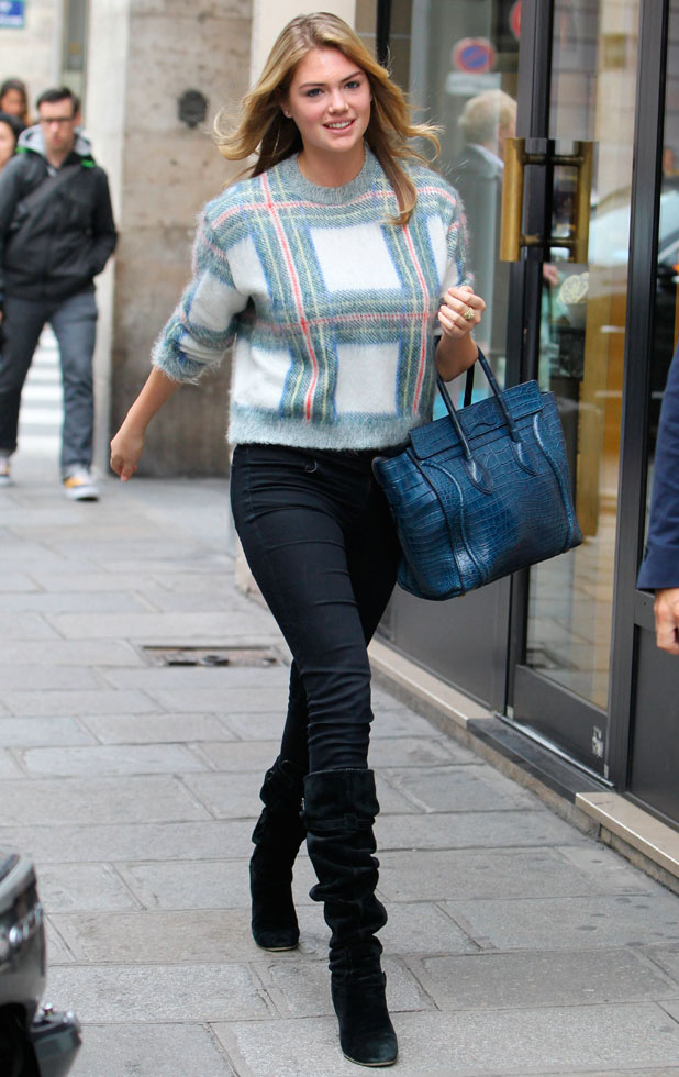 Kate Upton out and about, Paris, France - 30 Sep 2013