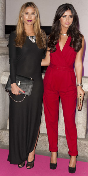 Lucy Mecklenburgh, Ferne McCann at The Inspiration Awards For Women 2013 at the Cadogan Hall, 2 October 2013