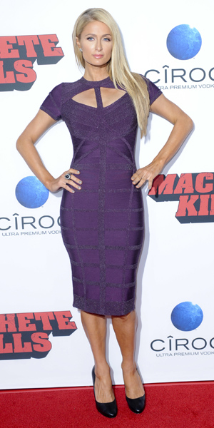 Paris Hilton at Machete Kills premiere on 2 October 2013