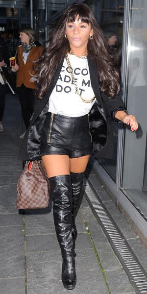 Chelsee Healey at Vogue Fashion Night Out - 10 October 2013