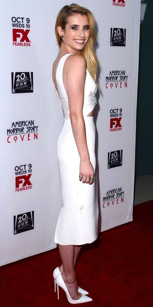 Emma Roberts - 'American Horror Story Coven' TV series premiere, Los Angeles, America - 05 Oct 2013