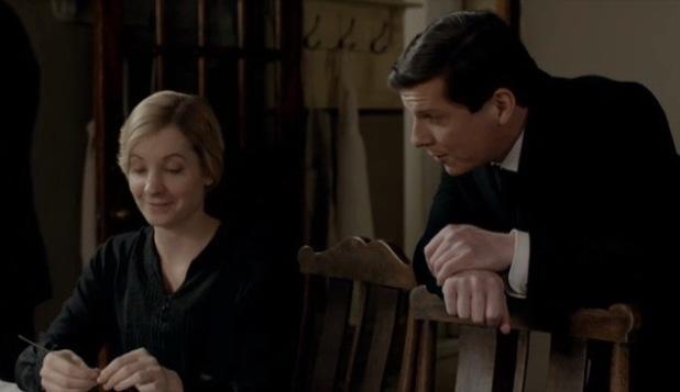 Nigel Harman  in Downton Abbey - 7 October 2013