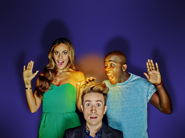 Sweat The Small Stuff, Rochelle Humes, Nick Grimshaw, Melvin O'Doom, BBC3