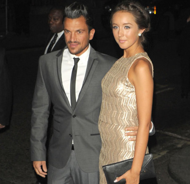 Pride of Britain Awards 2013, held 7 October: Emily MacDonagh and Peter Andre
