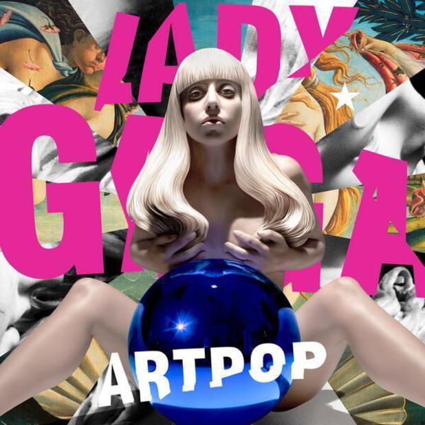 Lady Gaga unveils Artpop album cover